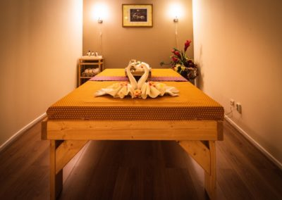 Eén persoons massage kamer